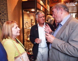 Peggy Machell, David Mills and Peter Harrigan of Medina Publishing